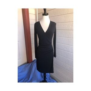 Black Jennifer Lopez Stretch Medium Dress